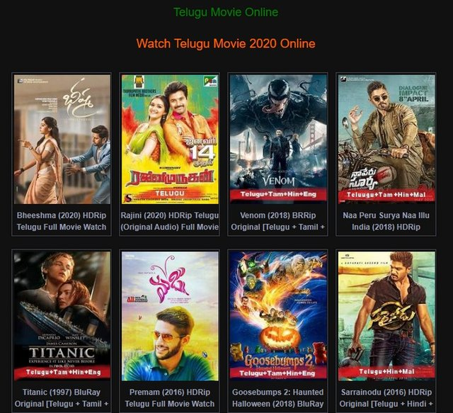 Best 13 Telugu Movies Download Sites For Free Latest Updates 2020 Starbiz Com