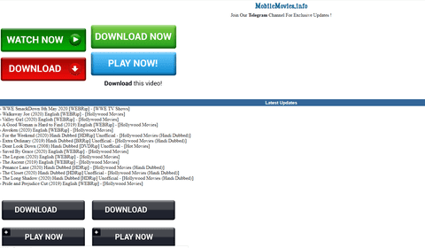 Top 9 Hindi Movies Download Free Websites | Updated Domains 2020 -  StarBiz.com