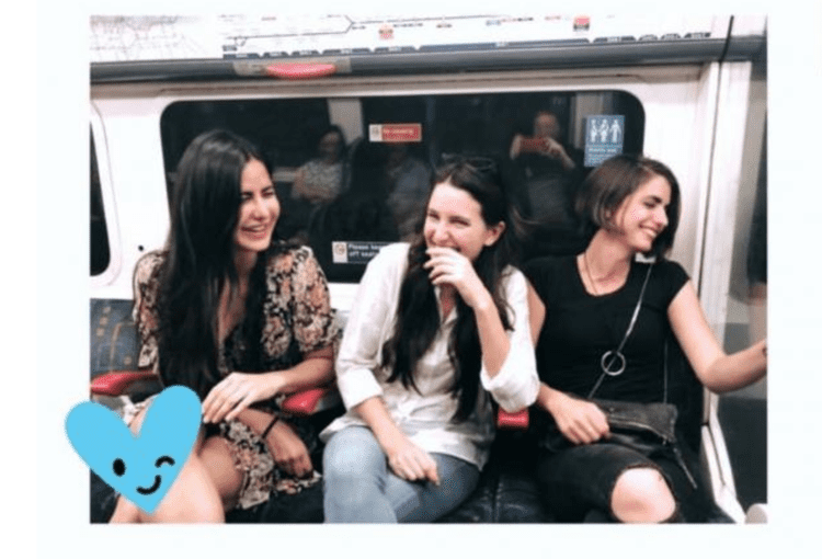 celebrities using public transport
