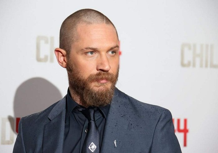 Buzzcut and beard