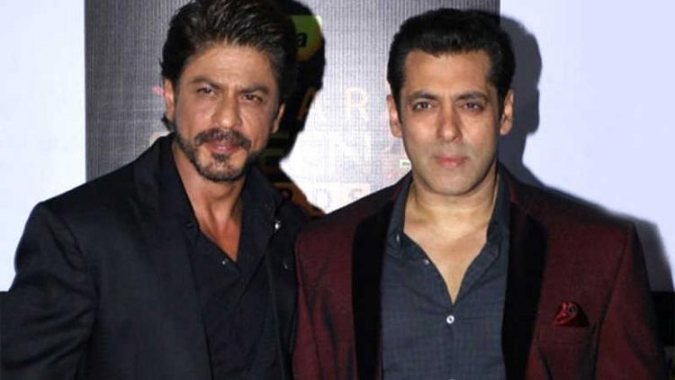 End of the list of Shah Rukh Khan Controversies is the cold war of SRK and Salman Khan