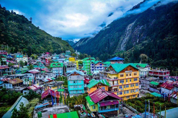 Lachung Cheap Destinations In India